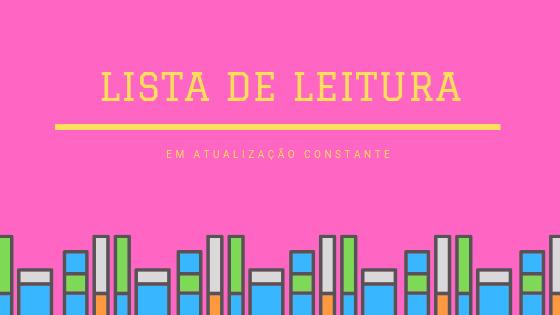 Lista de Leitura – 2019